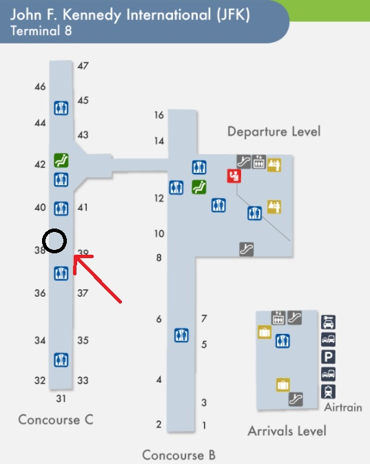 jfk map terminal 8 Jfk Airport Map لم يسبق له مثيل الصور Tier3 Xyz jfk map terminal 8
